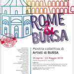 Artisti di Bursa A Roma 2016