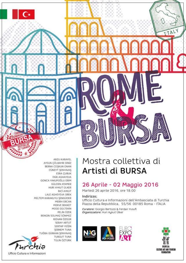 Artisti di Bursa a Roma 2016 - 2