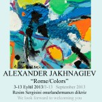 Alexander e Ivan Jakhnagiev ROMA / COLORI