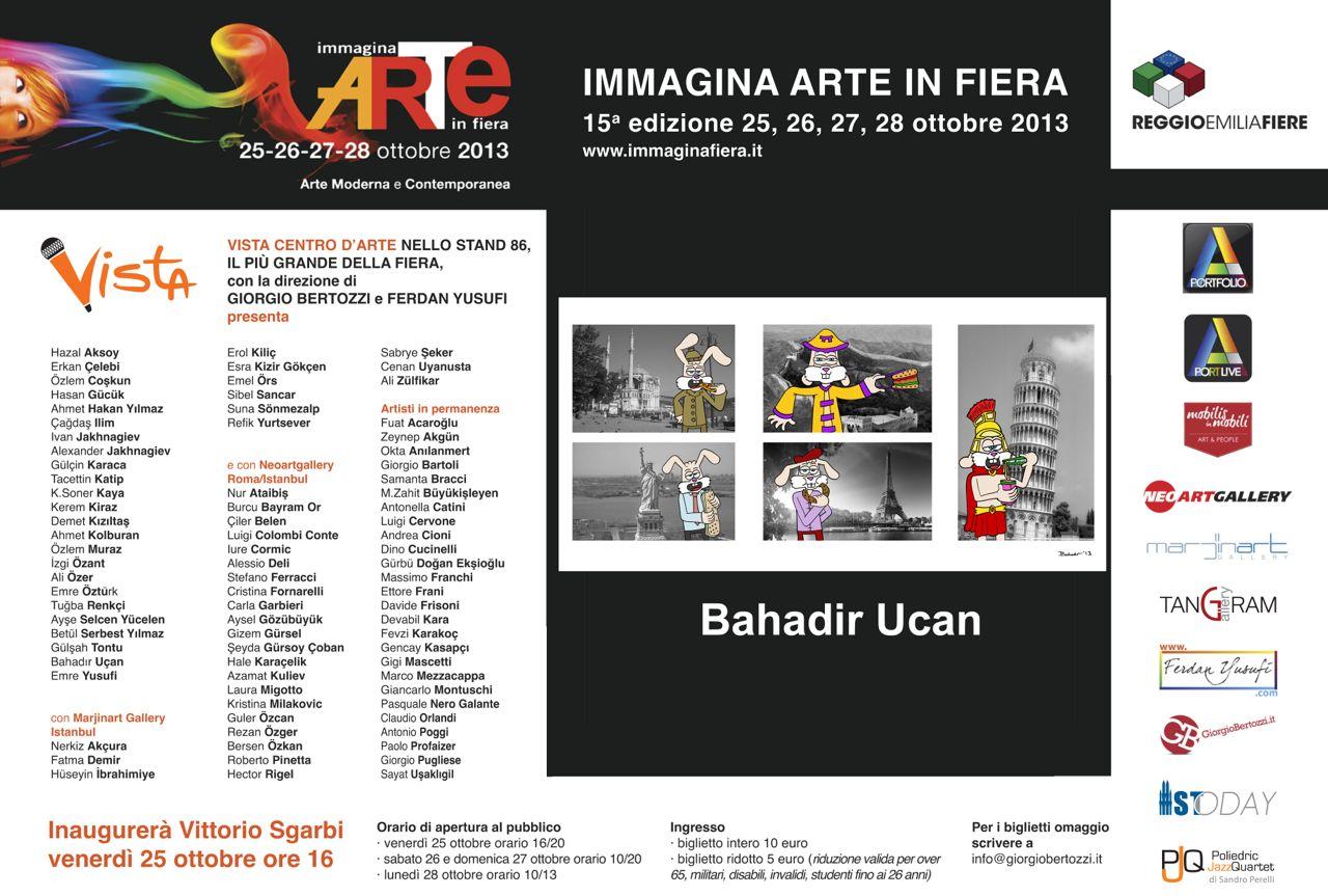 Giorgio Bertozzi Neoartgallery Immagina 2013 invito 02