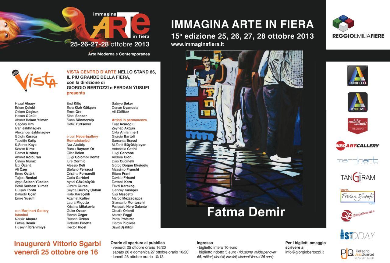 Giorgio Bertozzi Neoartgallery Immagina 2013 invito 11