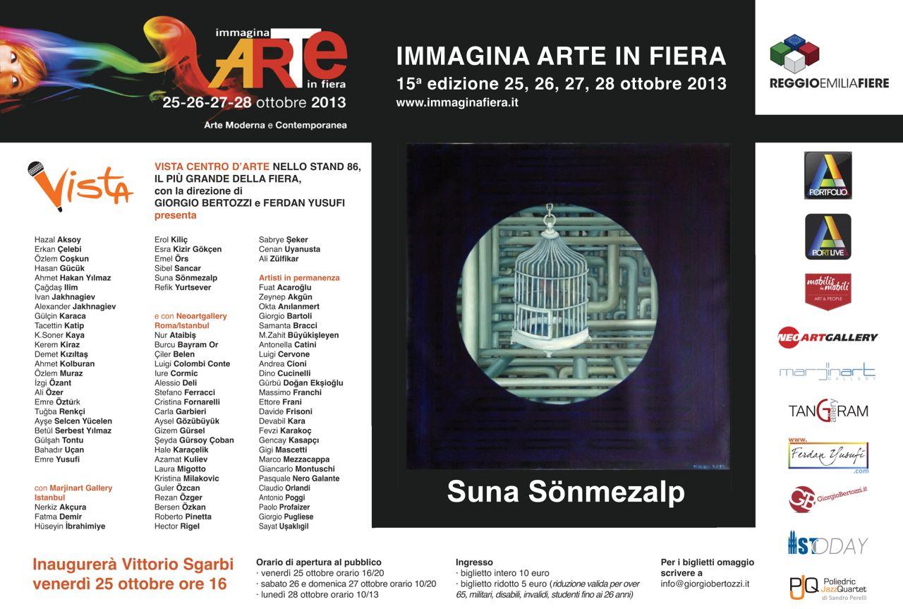 Giorgio Bertozzi Neoartgallery Immagina 2013 invito 13