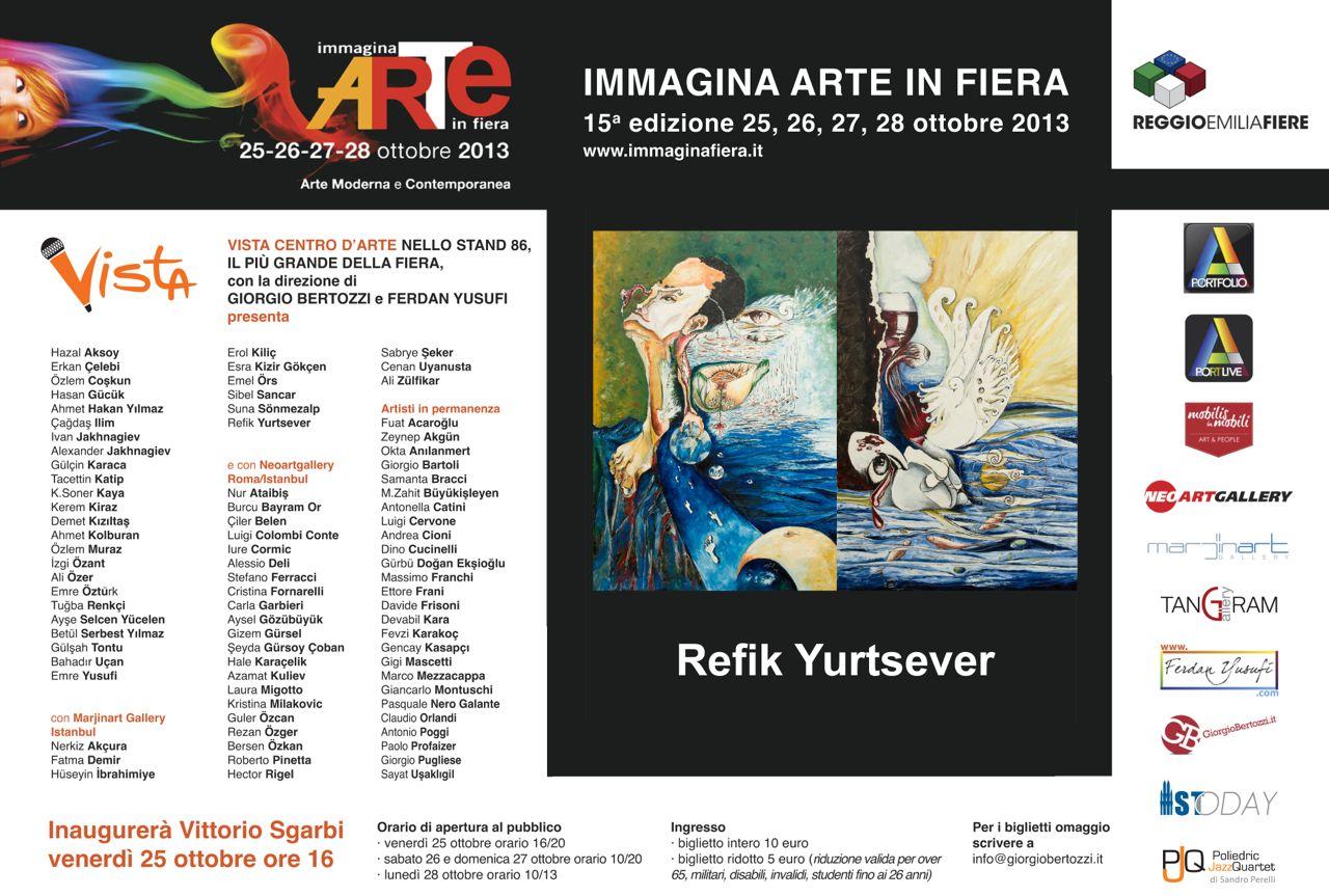 Giorgio Bertozzi Neoartgallery Immagina 2013 invito 14