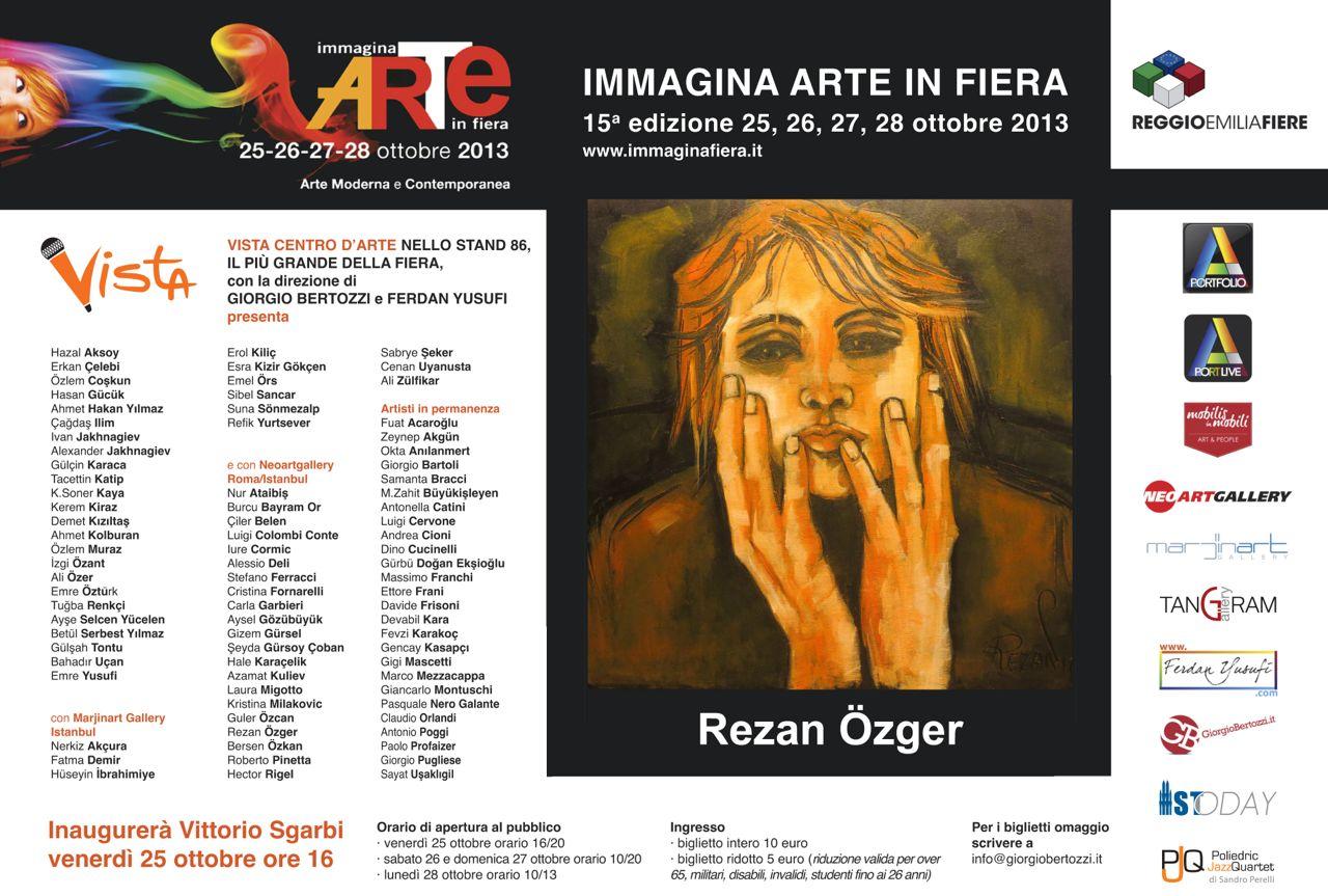 Giorgio Bertozzi Neoartgallery Immagina 2013 invito 17