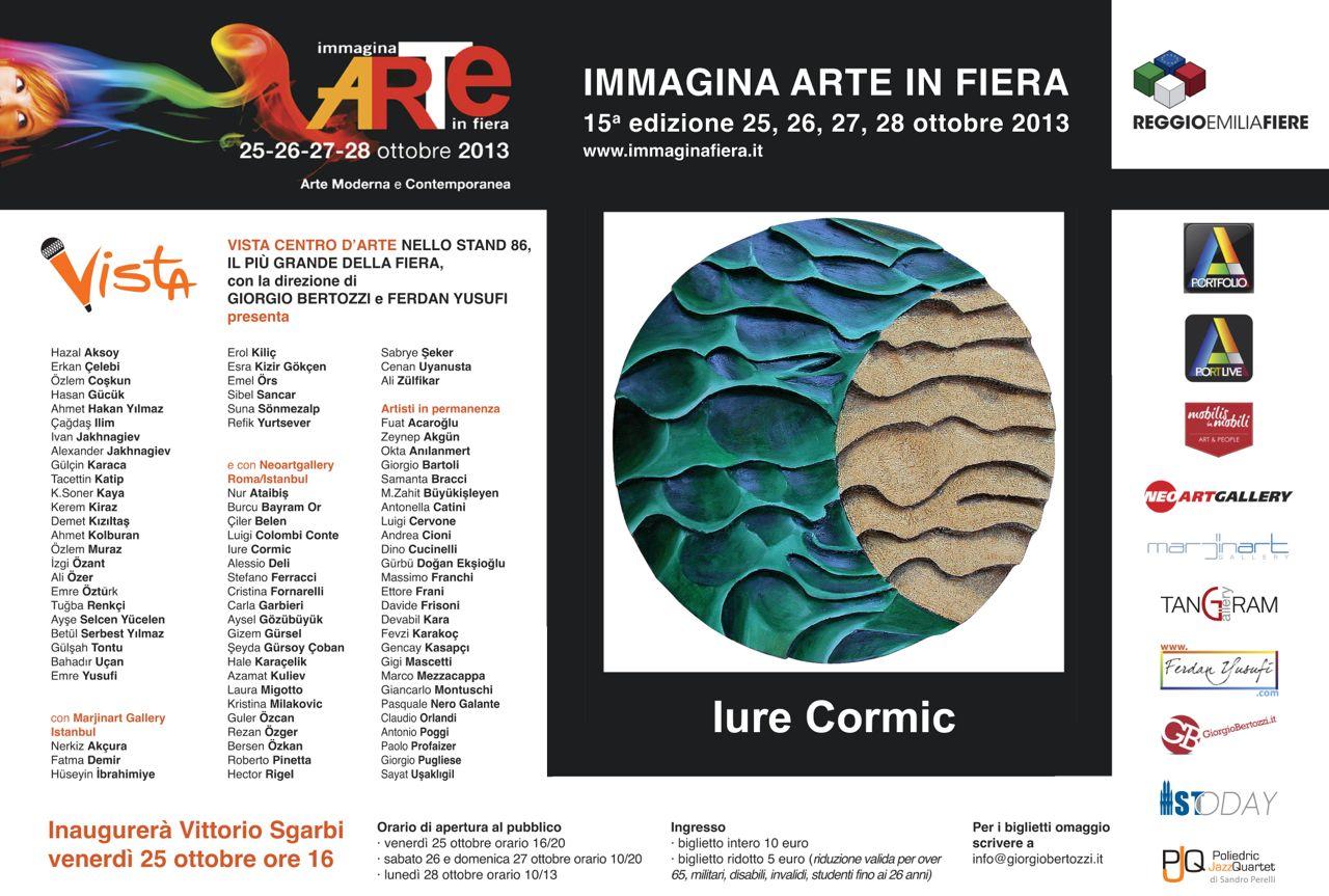 Giorgio Bertozzi Neoartgallery Immagina 2013 invito 18