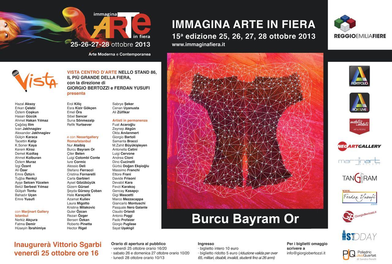 Giorgio Bertozzi Neoartgallery Immagina 2013 invito 25