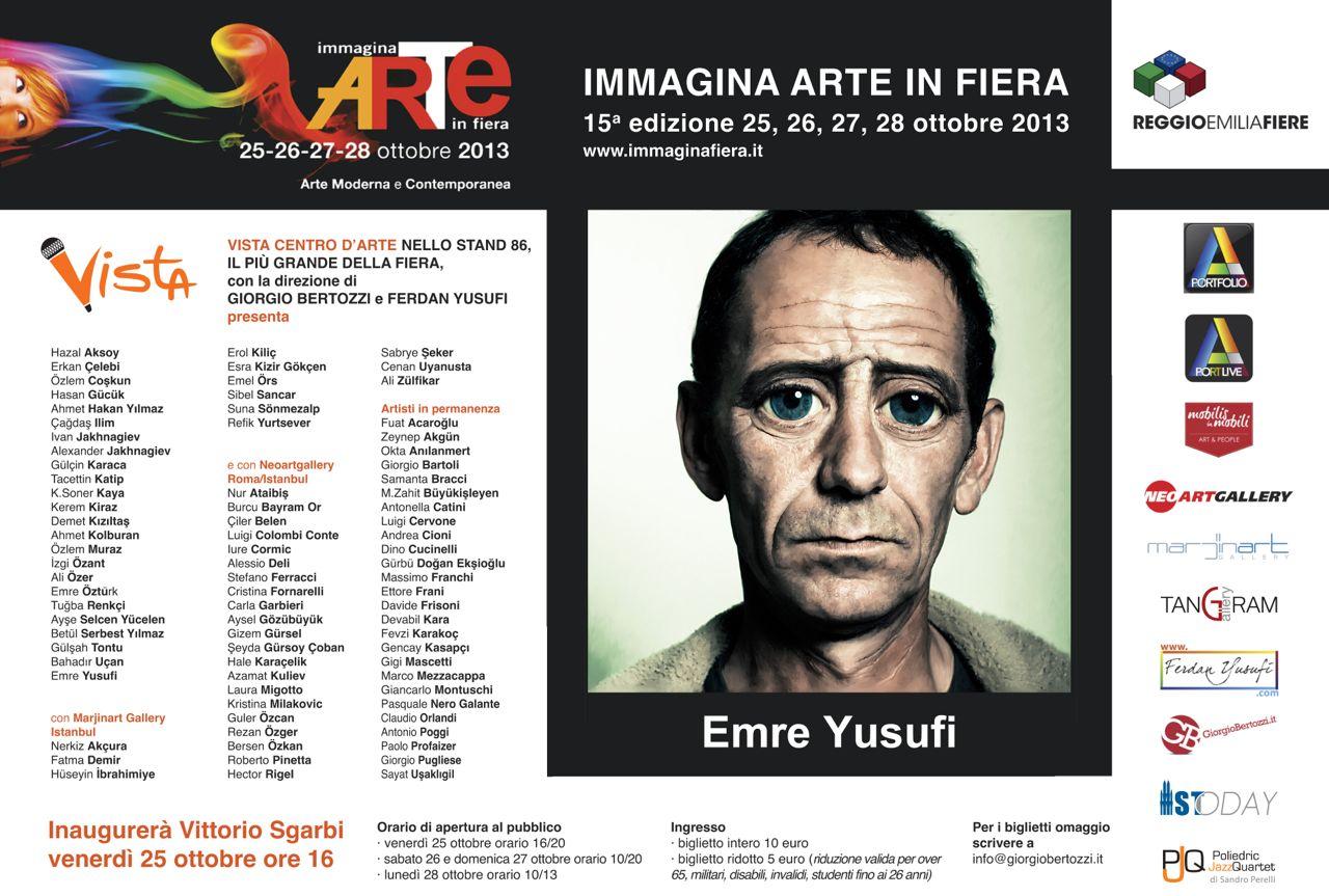 Giorgio Bertozzi Neoartgallery Immagina 2013 invito 28