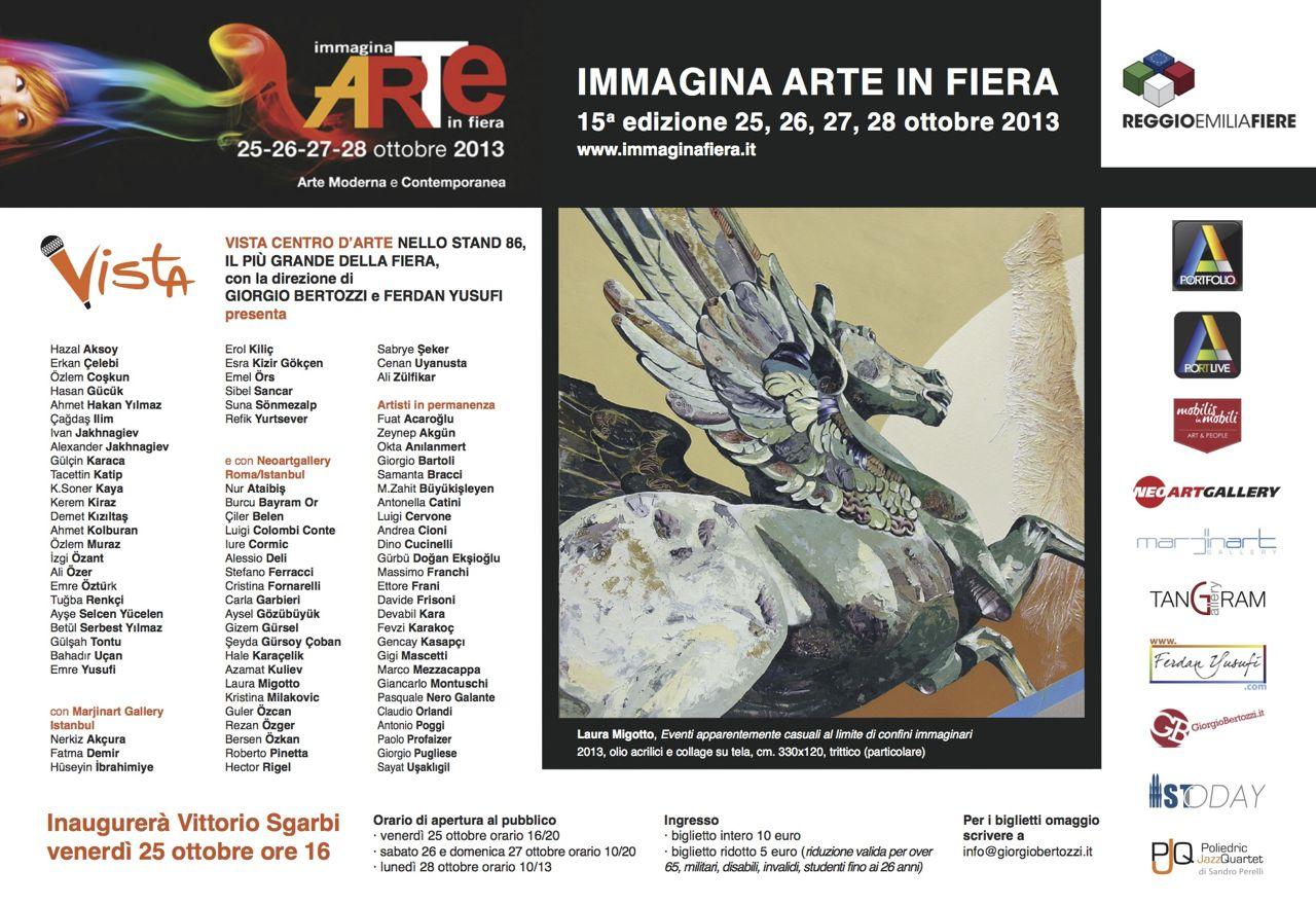 Giorgio Bertozzi Neoartgallery Immagina 2013 invito 32