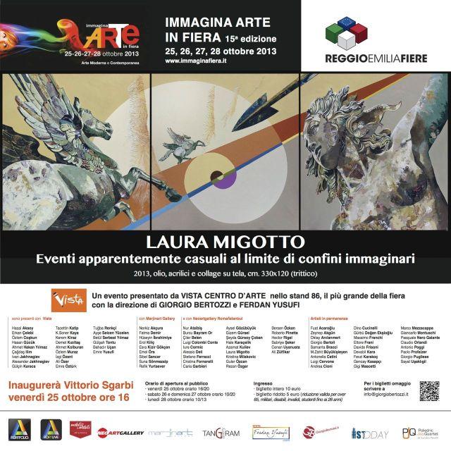 Giorgio Bertozzi Neoartgallery Invito Reggio Emilia Migotto