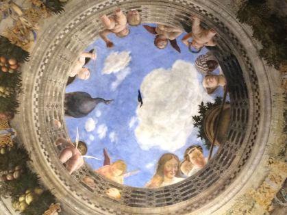 Mantova La camera Degli Sposi Mantegana Giorgio Bertozzi Neoartgallery - 13