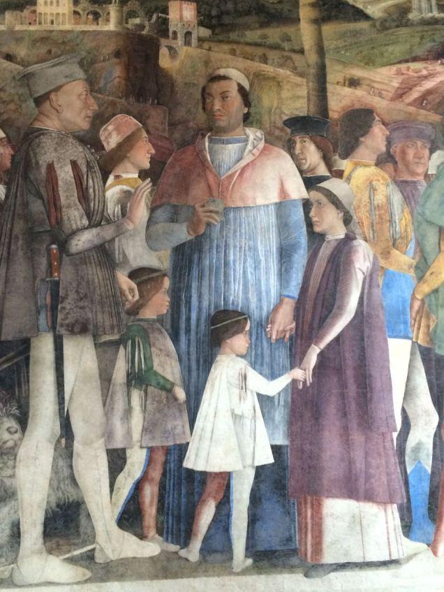 Mantova La camera Degli Sposi Mantegana Giorgio Bertozzi Neoartgallery - 16