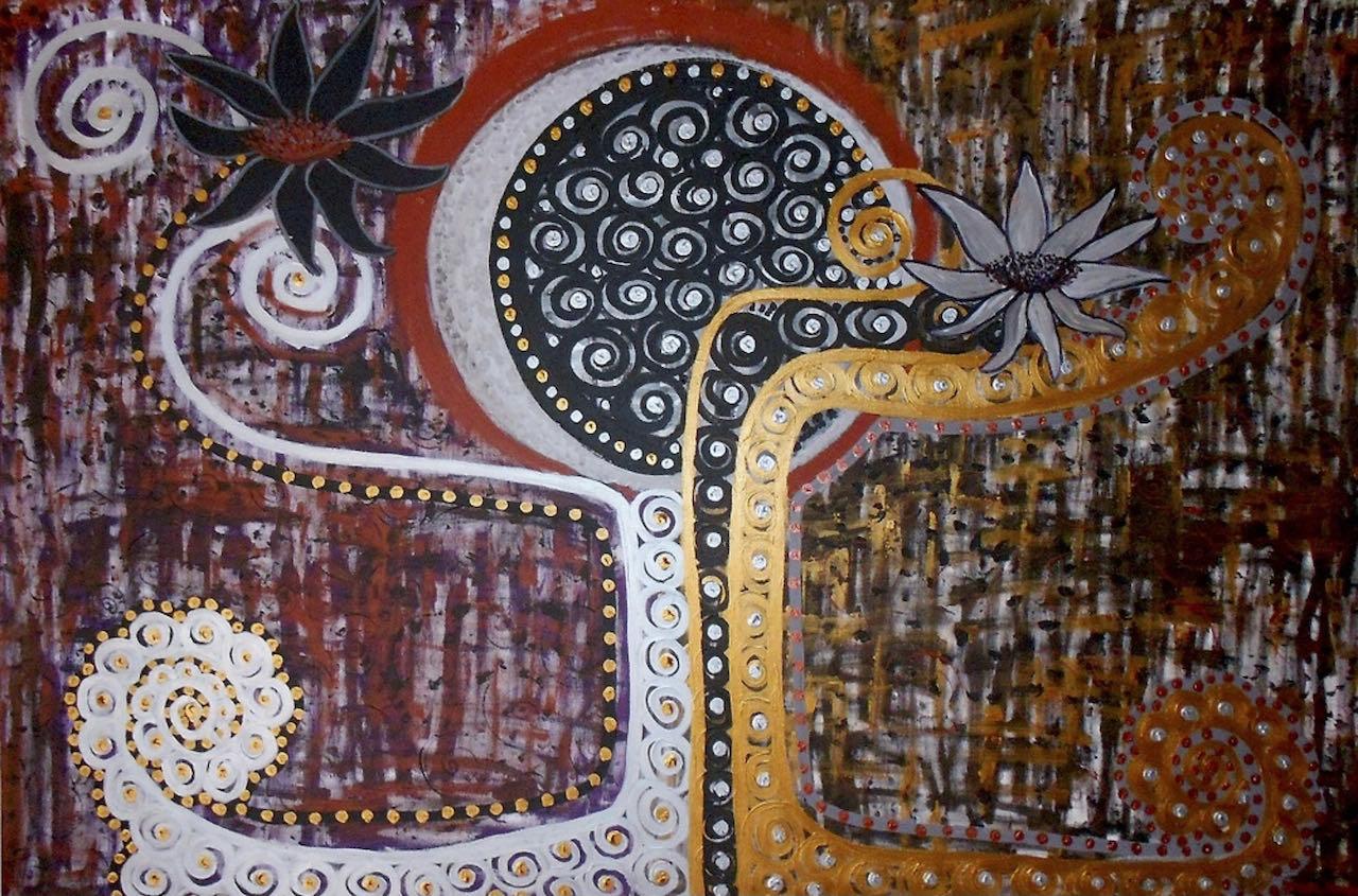 Il Giardino della Rinascita di Patricia del Monaco Giorgio Bertozzi Neoartgallery