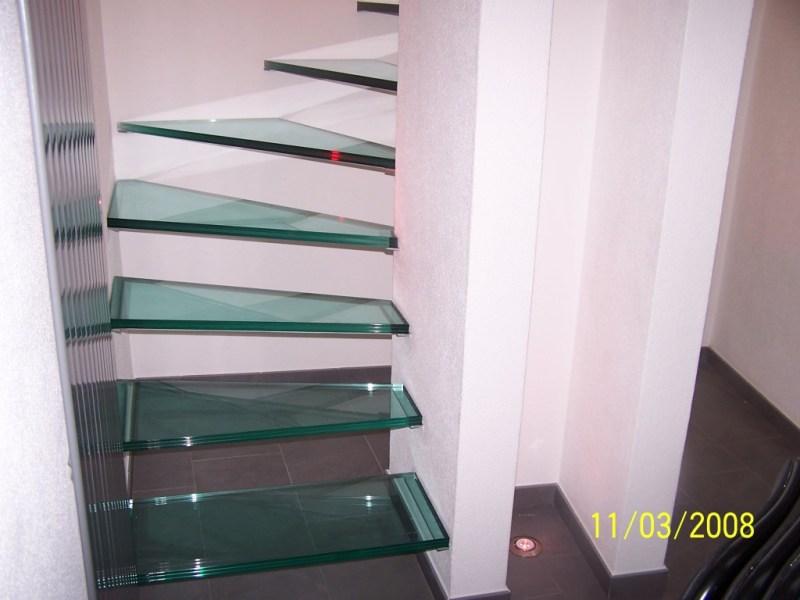 scale con gradini in vetro by Giorgio Ferrari Vetro_35