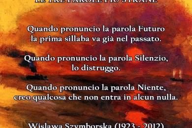 Wislawa Szymborska, quadro Emil Nolde