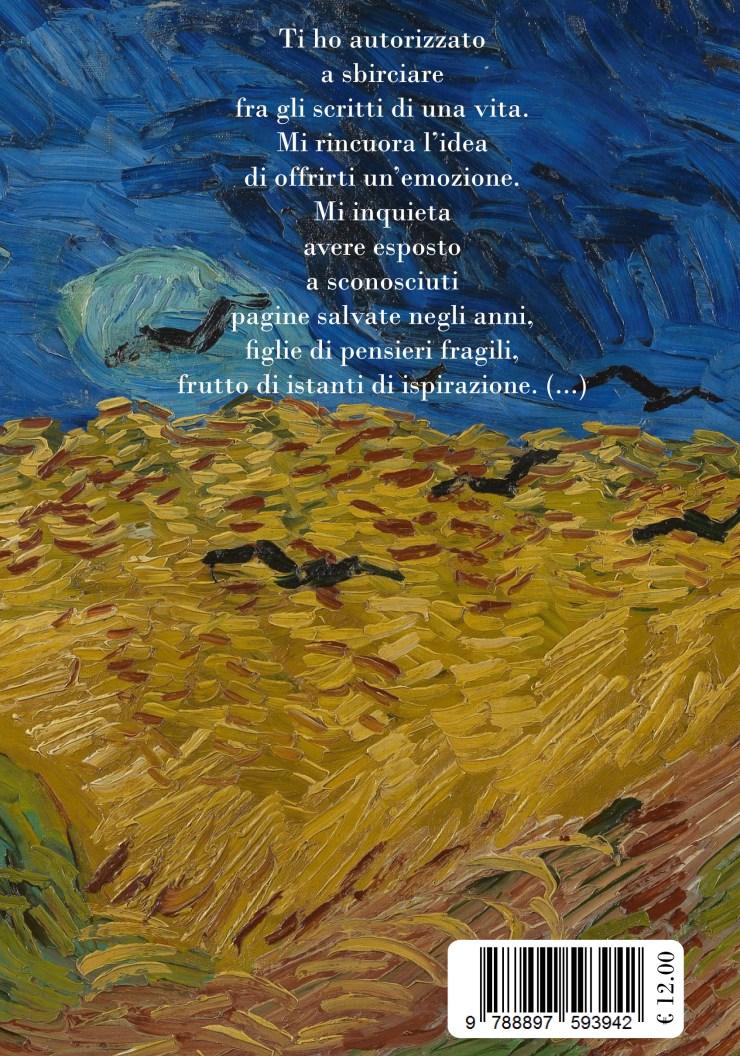 Finzioni Di Poesia_Bertonieditore_Giorgio Montanari - quarta di copertina - Van Gogh