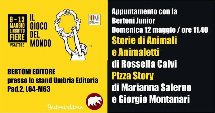 Pizza Story banner Salone Internazionale Libro Torino 2019 SalTo19