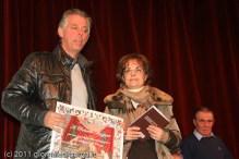 La premiazione di Rolando Mazzanti