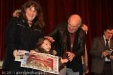 La premiazione della famiglia Ferrari
