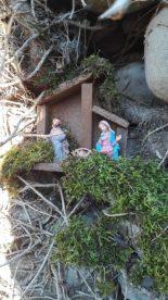 Settima Crudeli, presepe nel rudere - Località Marcucci Barga