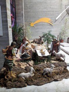 Il Presepe nella chiesa del Cristo Redentore a Fornaci