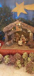 Il presepe all'internod ella chiesa di Montebono