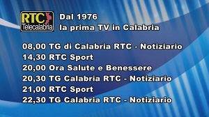 Oggi su RTC Telecalabria – Programmazione di mercoledì 20 novembre 2019