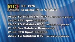 Oggi su RTC Telecalabria – Programmazione di martedì 10 dicembre 2019