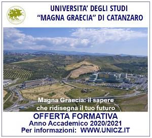 UMG – Offerta Formativa 2020-2021