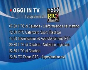IN TV SU RTC – Giovedì 25 Febbraio