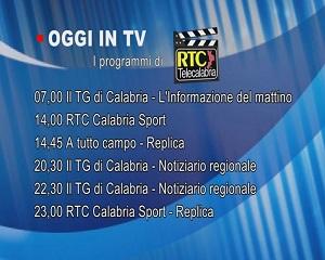 IN TV SU RTC – Martedì 2 Marzo