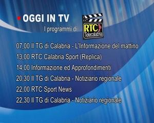 IN TV SU RTC – Mercoledì 3 Marzo