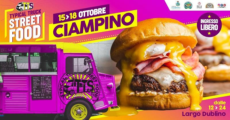 Ciampino, dal 15 al 18 ottobre il Typical Truck Street Food