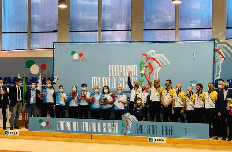 Bocce, il Boville Marino Campione d'Italia 2019/20