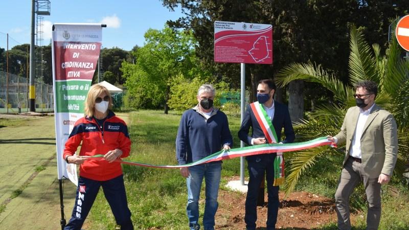 Pomezia – Cittadinanza Attiva, inaugurato il nuovo circuito podistico presso il parco di Selva dei Pini