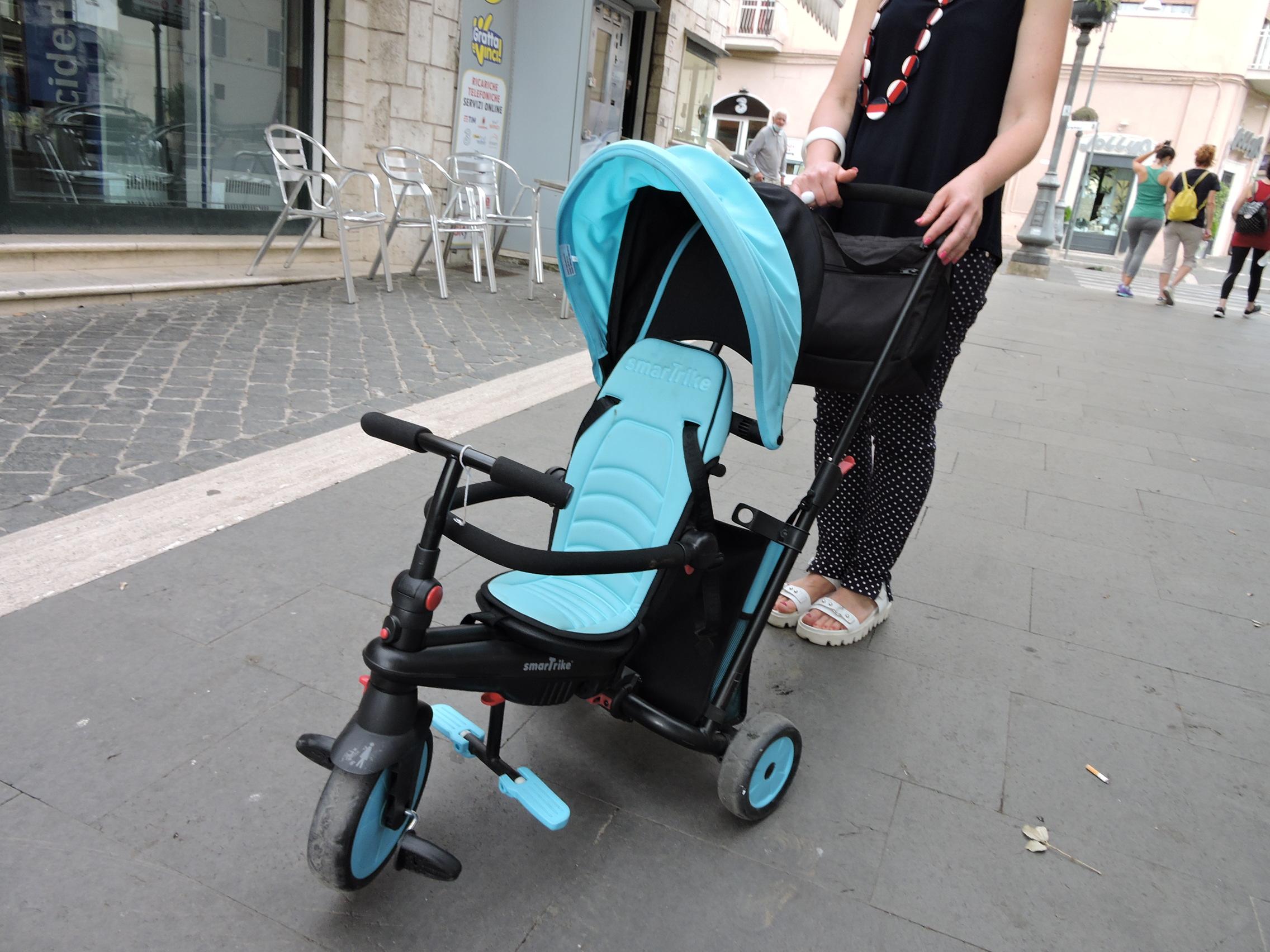 Genzano, ladro pentito riporta il triciclo rubato ad un bambino