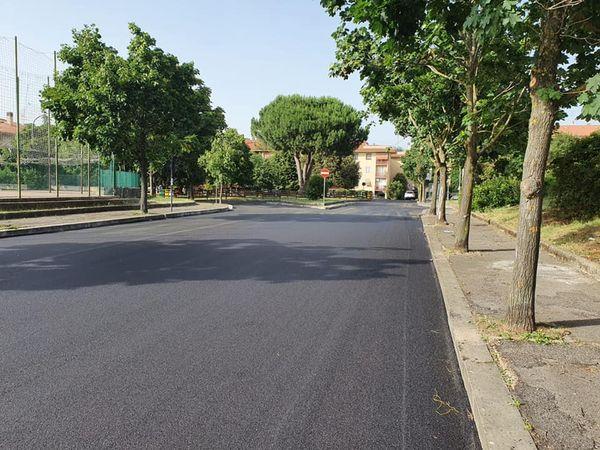 Ariccia, nuovi interventi di manutenzione stradale