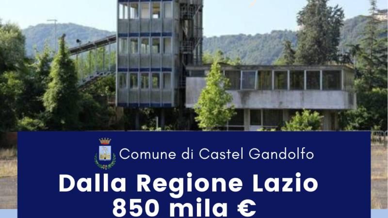 Castel Gandolfo, in arrivo dalla Regione Lazio 850mila euro per le tribune olimpiche