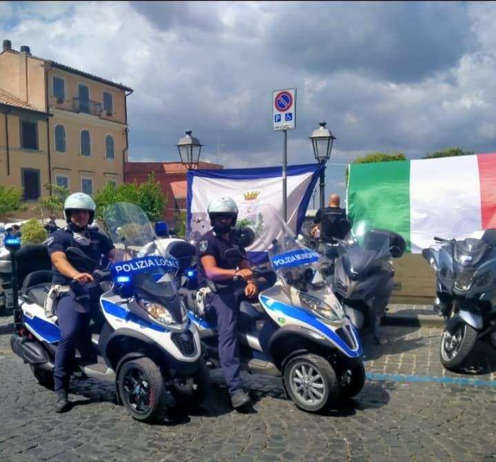 Marino, tappa del Motoraduno dell'Associazione European Police Association