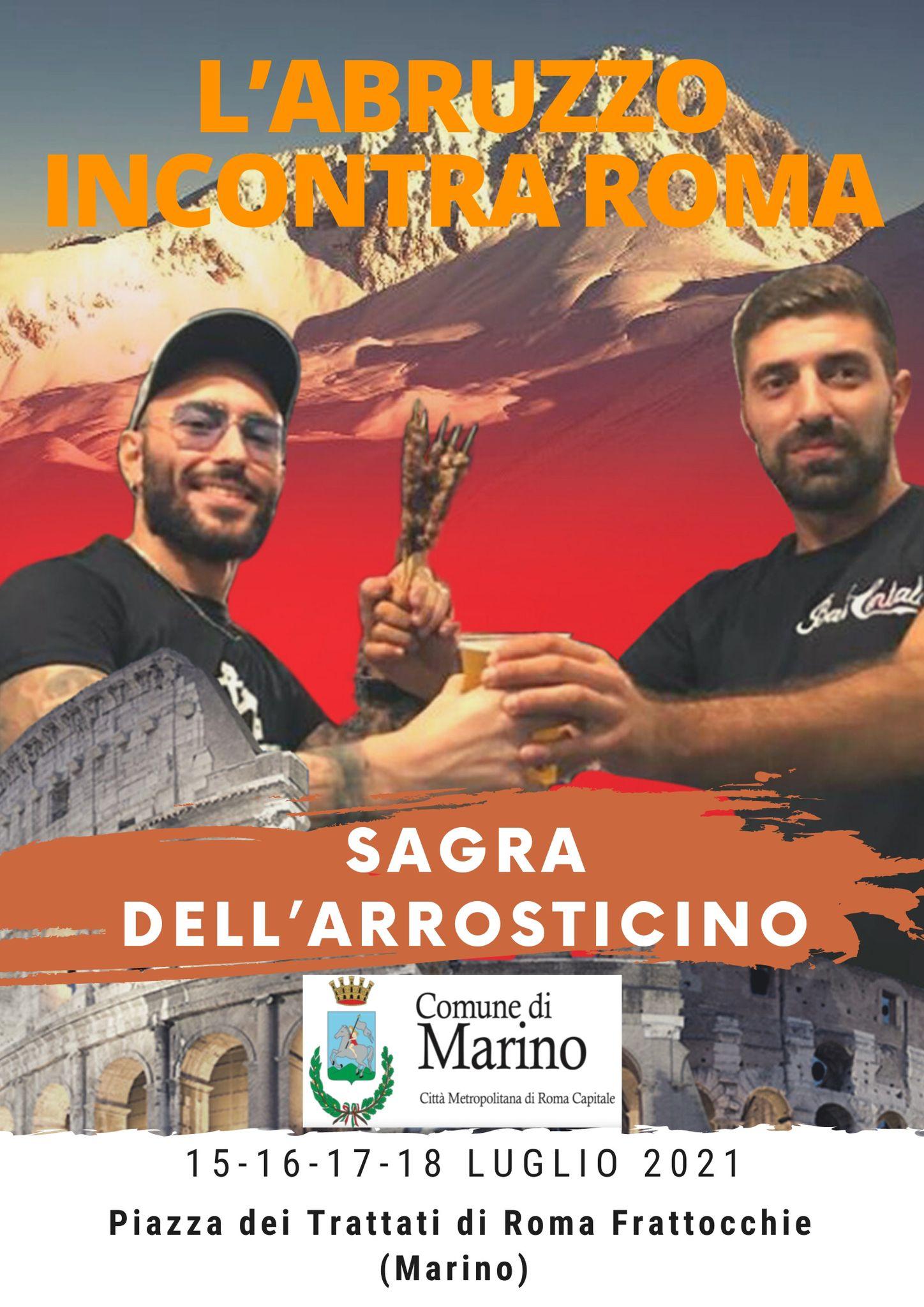 Marino, terza edizione della sagra dell'arrosticino