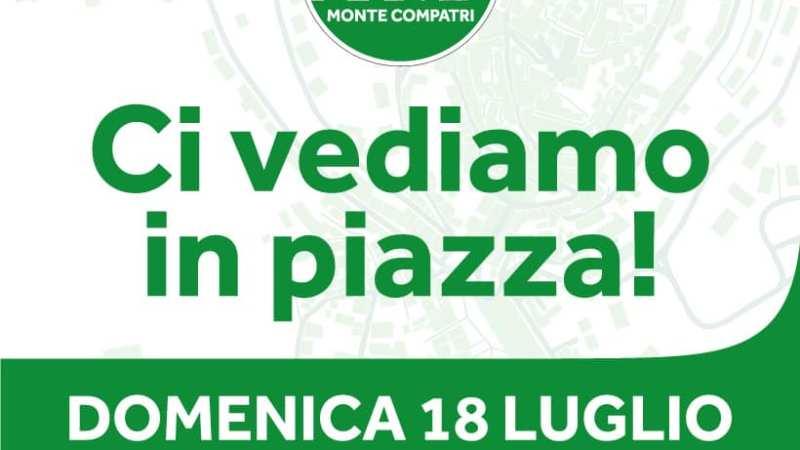 """Ora Monte Compatri: """"Domenica in piazza con i cittadini e con la scatola delle idee"""""""