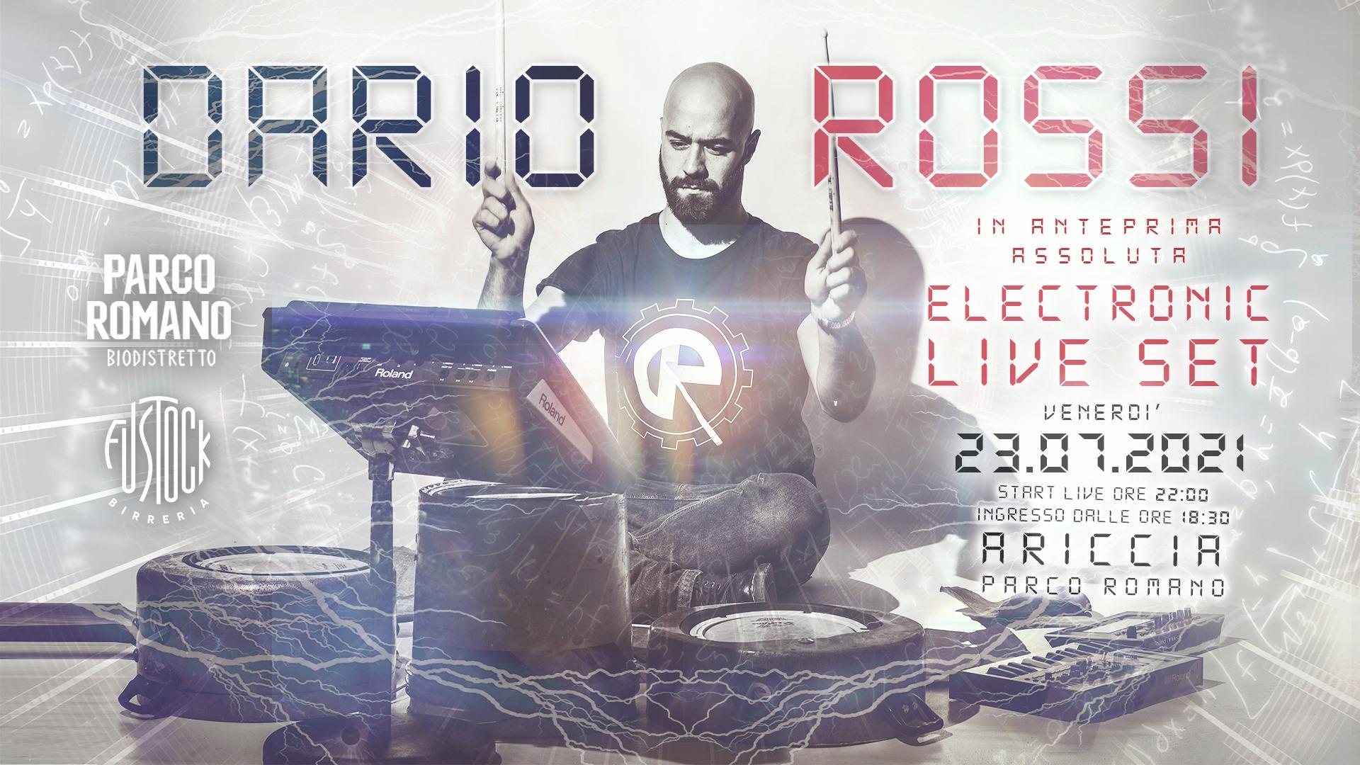 Albano, concerto di solidarietà, electronic live set il 23 Luglio al Parco Romano del Biodistretto