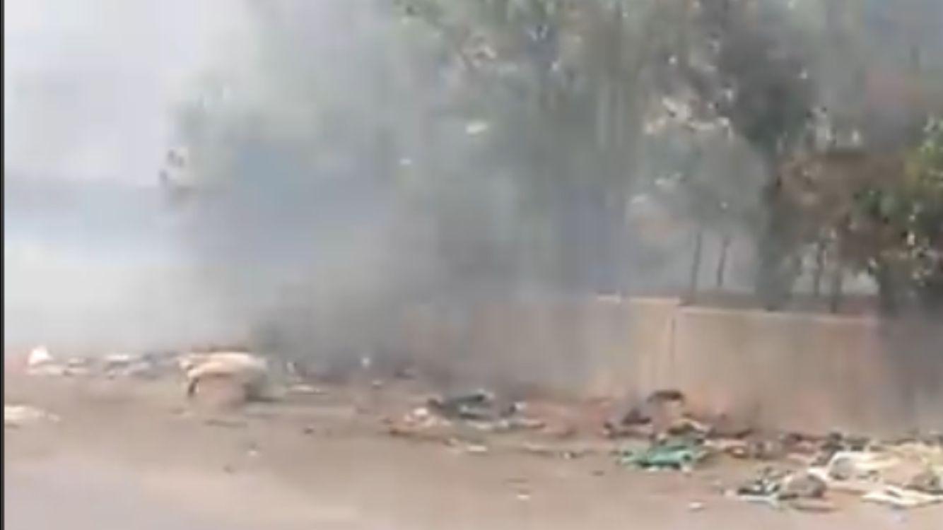 Albano, grave incendio doloso su via Ardeatina nei pressi di Roncigliano (in aggiornamento)