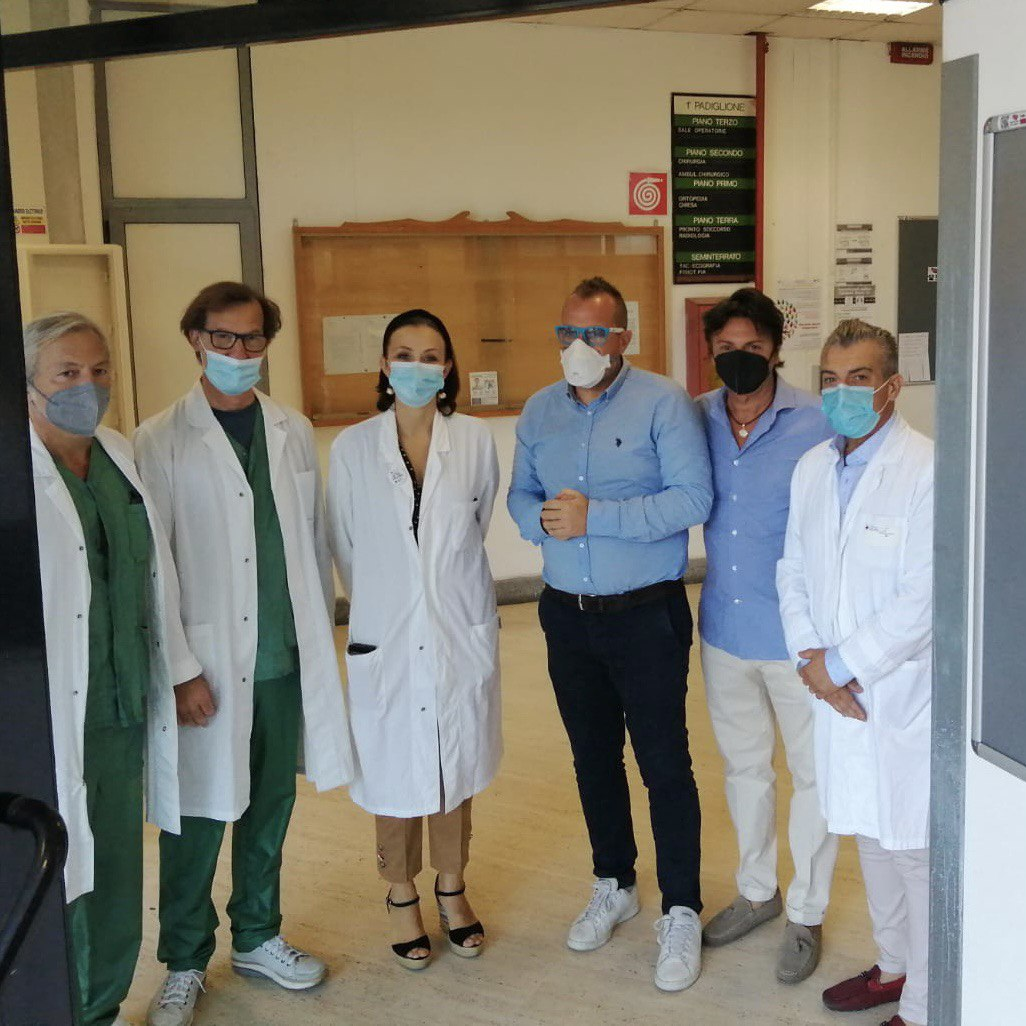 """Frascati, Capolei-Magliocchetti: """"Lavoriamo per interventi di efficientamento all'Ospedale S. Sebastiano"""""""