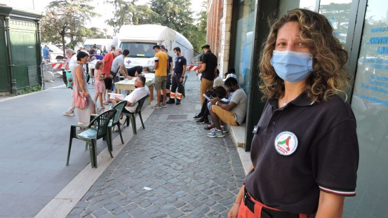 Genzano, grande affluenza al camper dei vaccini, circa 180 vaccini in poche ore