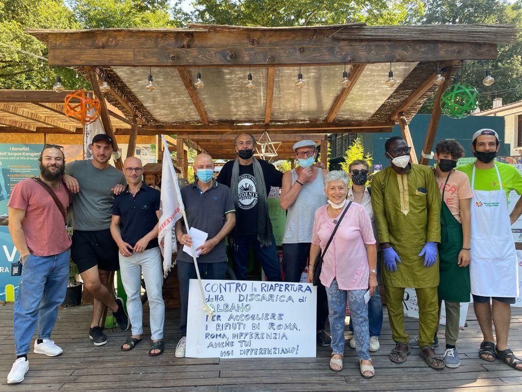 Ariccia, iniziative al Parco Romano per sostenere la chiusura della discarica di Albano: artisti, attivisti e sportivi uniti