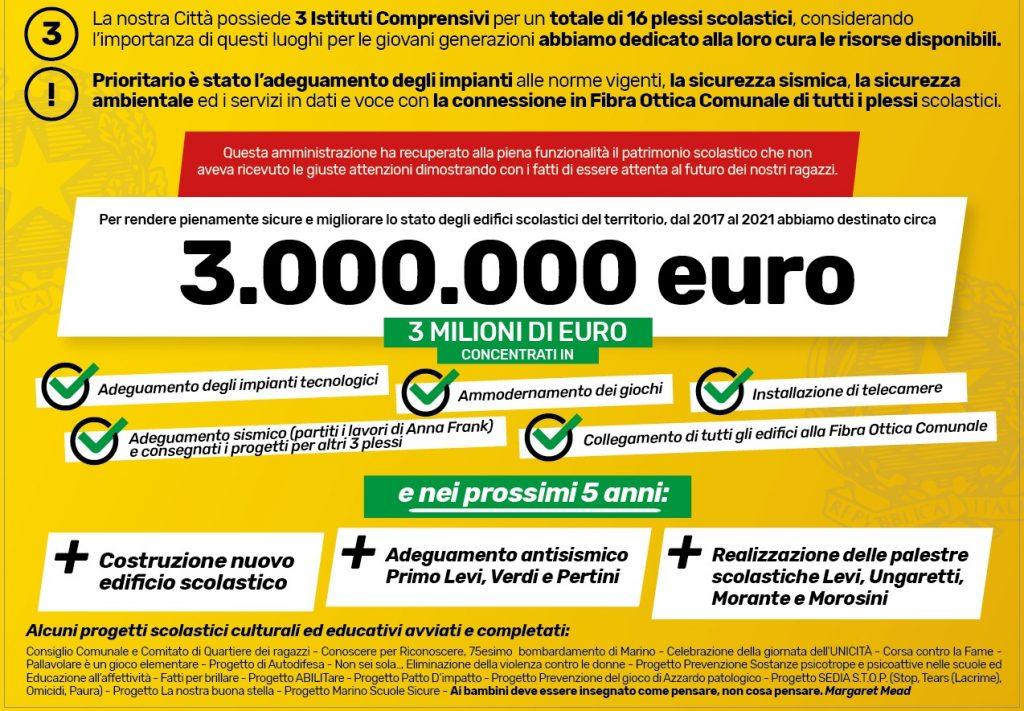 """Marino, Energie Positive Nuova Marino sui """"volantoni"""" gialli diffusi dall'amministrazione comunale"""
