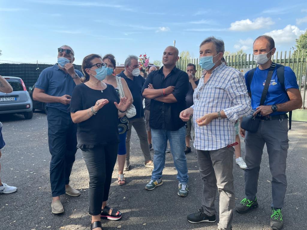 Discarica Albano, concluso poco fa l'incontro tra cittadini e comitati