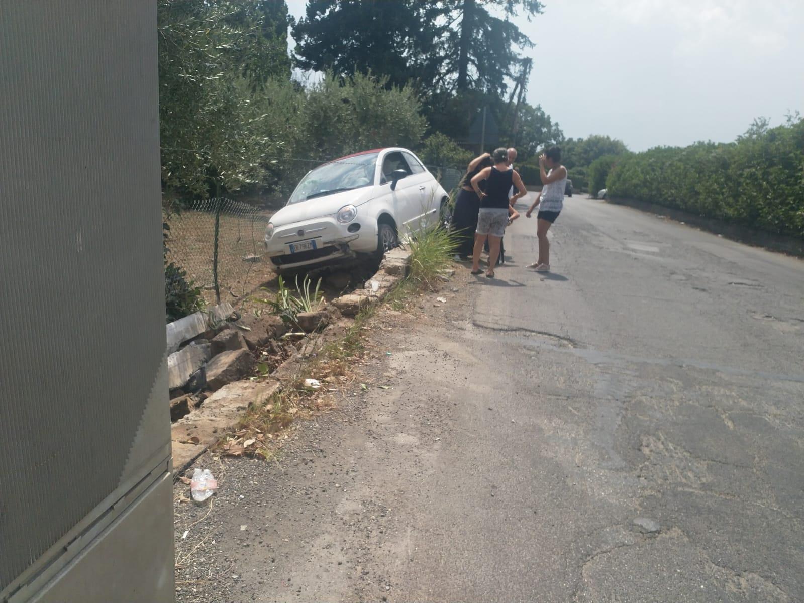 Velletri, ancora un pauroso incidente in pieno giorno