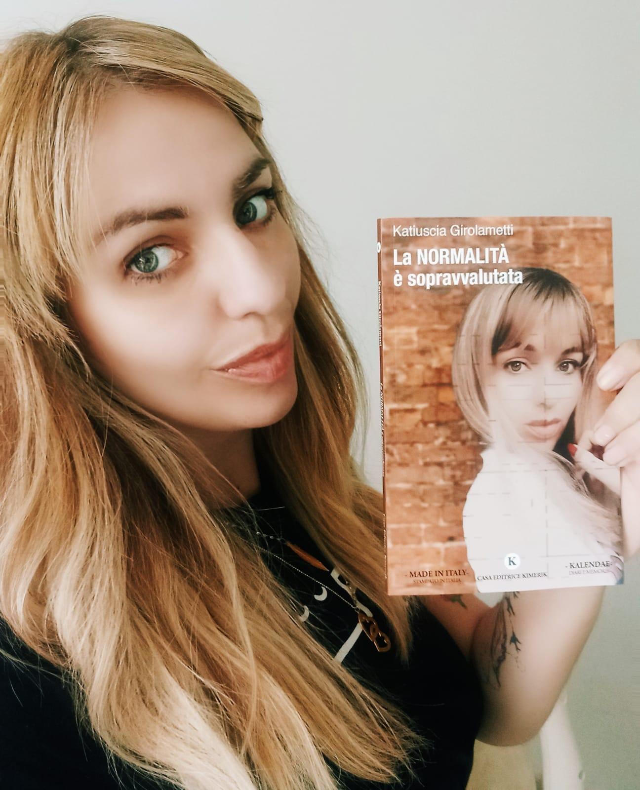 """Ciampino, è uscito il libro della mamma coraggio e scrittrice Katiuscia Girolametti """" La Normalità è Sopravvalutata"""""""