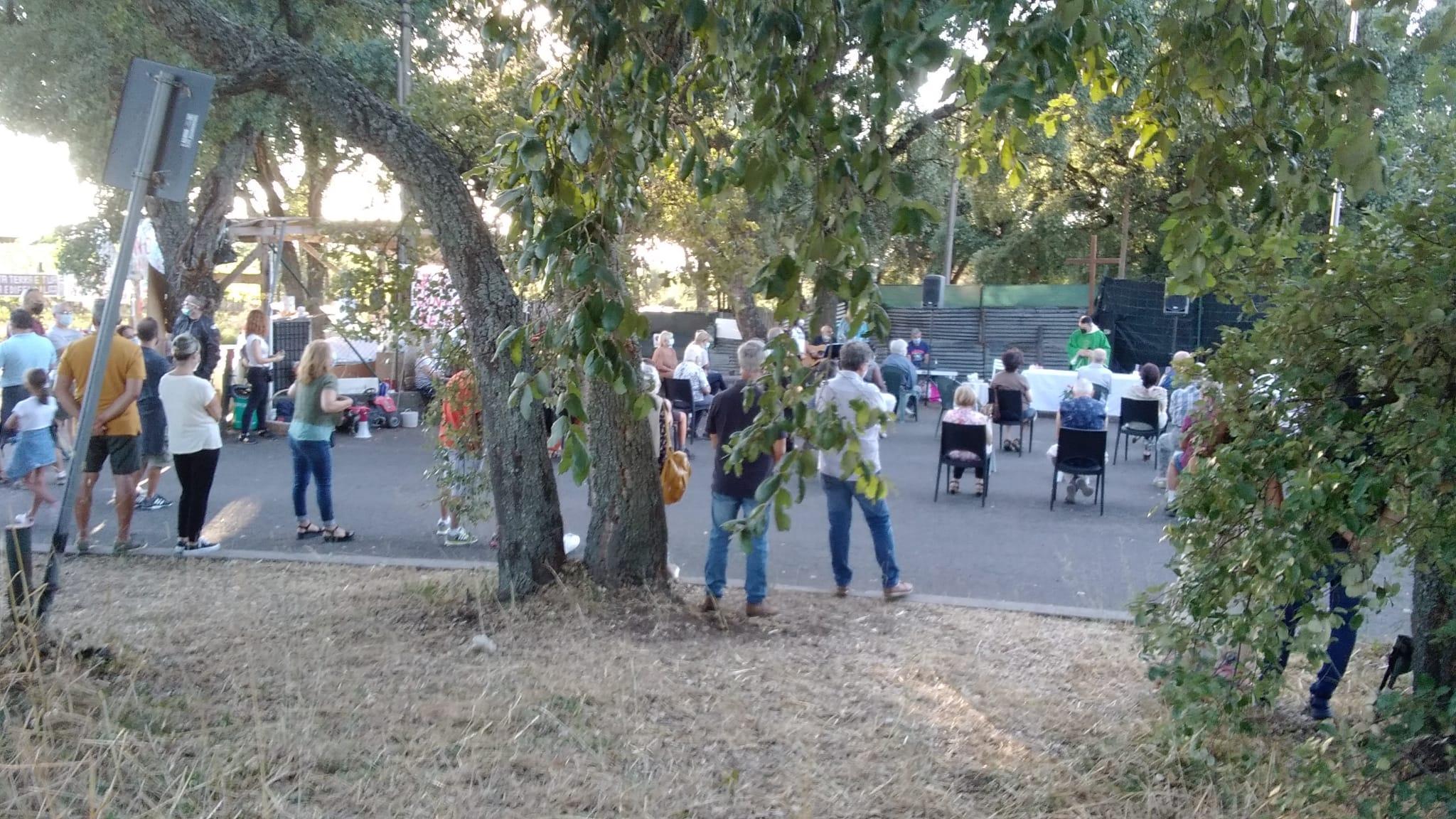 Discarica Roncigliano, messa solenne celebrata a supporto delle proteste contro i rifiuti